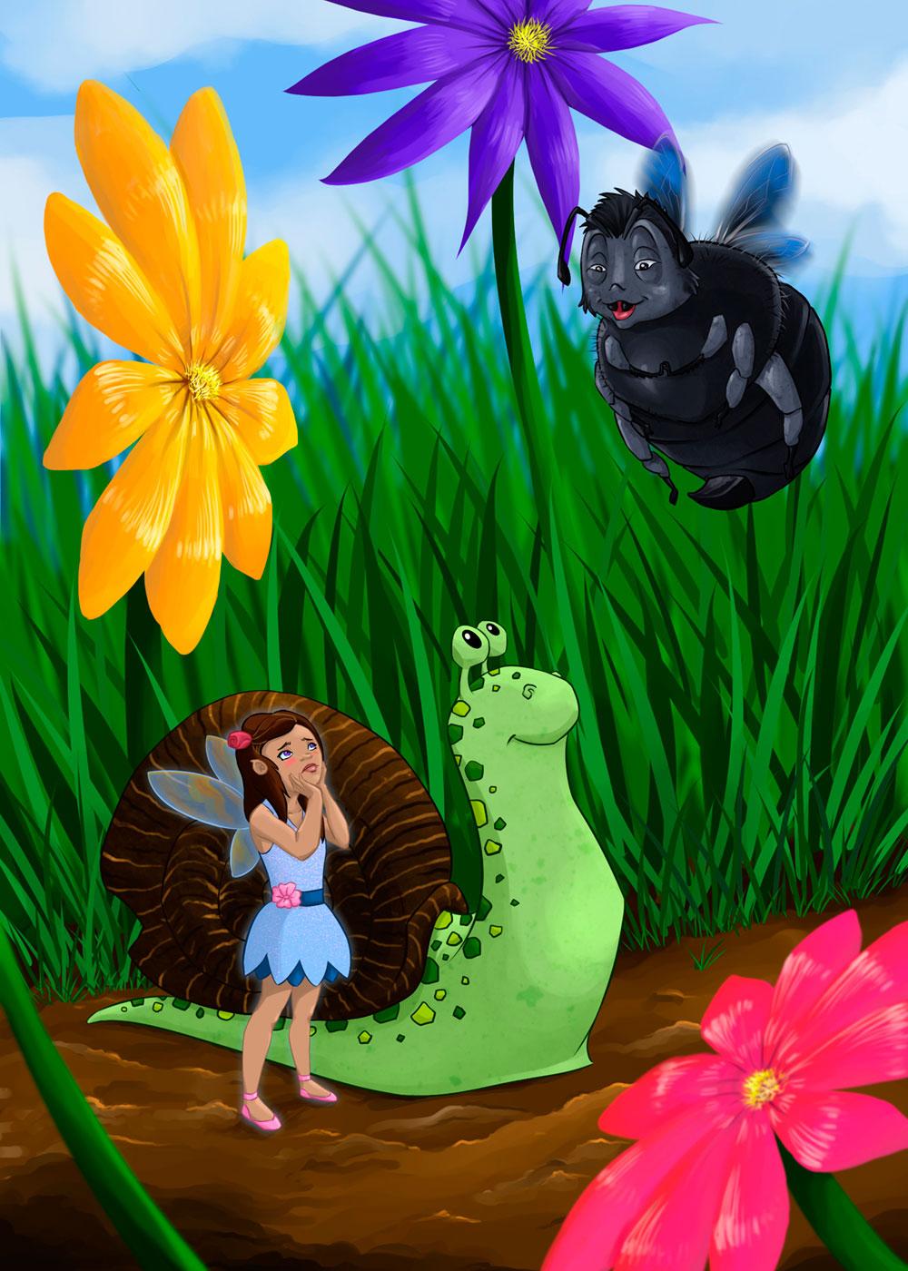 Atenea y el caracol